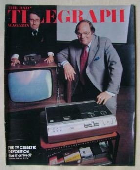 The Daily Telegraph magazine - Cliff Michelmore and Gordon Reece cover (5 July 1974)