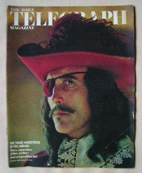 The Daily Telegraph magazine - Musketeer cover (22 March 1974)