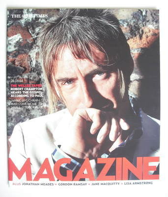<!--2004-08-28-->The Times magazine - Paul Weller cover (28 August 2004)