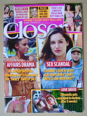 <!--2014-04-26-->Closer magazine - 26 April - 2 May 2014
