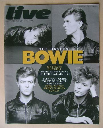 <!--2008-06-22-->Live magazine - David Bowie cover (22 June 2008)