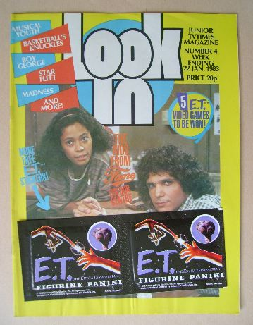 <!--1983-01-22-->Look In magazine - 22 January 1983