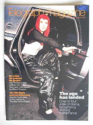 <!--1999-09-18-->Telegraph magazine - Cher cover (18 September 1999)
