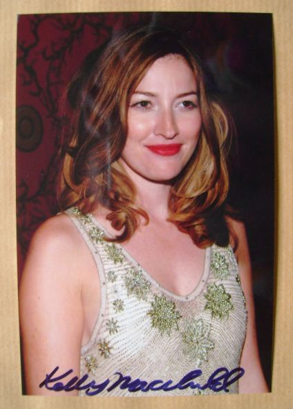 Kelly Macdonald autograph