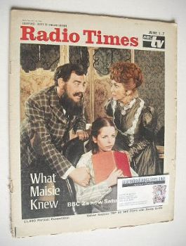 Radio Times magazine - What Maisie Knew cover (1-7 June 1968)