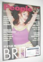 <!--2002-03-17-->Sunday People magazine - 17 March 2002 - Kylie Minogue cover