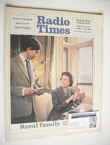 <!--1969-06-21-->Radio Times magazine - Prince Charles and The Queen cover
