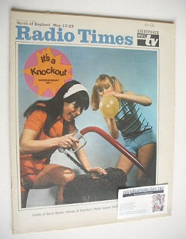 <!--1969-05-17-->Radio Times magazine - It's A Knockout cover (17-23 May 19