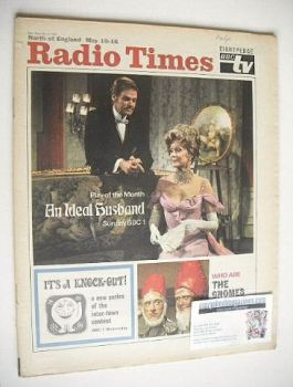 Radio Times magazine - An Ideal Husband cover (10-16 May 1969)