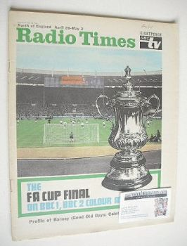 Radio Times magazine - FA Cup Final cover (26 April - 2 May 1969)