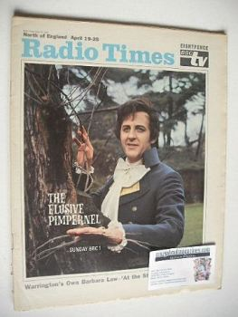 Radio Times magazine - The Elusive Pimpernel cover (19-25 April 1969)