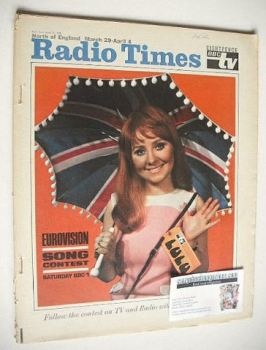 Radio Times magazine - Lulu cover (29 March - 4 April 1969)