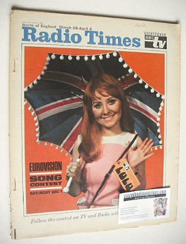 <!--1969-03-29-->Radio Times magazine - Lulu cover (29 March - 4 April 1969