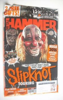 Metal Hammer magazine - Slipknot cover (February 2016)