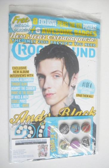 rock sound magazine andy biersack cover february 2016