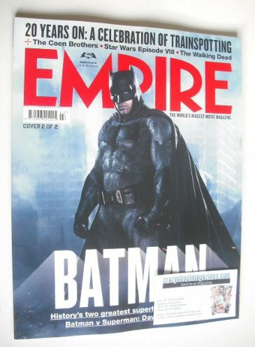 <!--2016-03-->Empire magazine - Batman cover (March 2016)