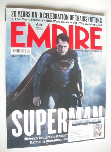 <!--2016-03-->Empire magazine - Superman cover (March 2016)