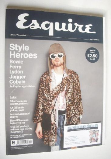 <!--2016-01-->Esquire magazine - Kurt Cobain cover (January/February 2016)