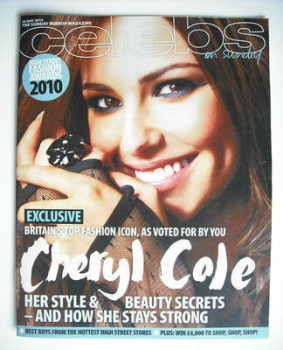 Celebs magazine - Cheryl Cole cover (30 May 2010)