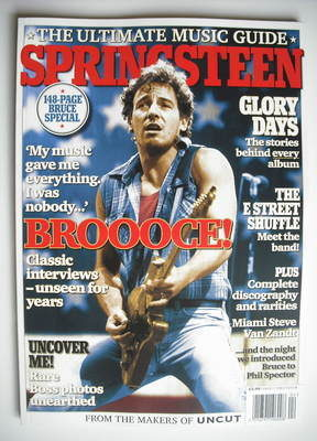 <!--2010-04-->Uncut Special Edition magazine - Bruce Springsteen (Issue 2 -