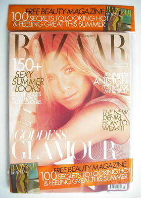 <!--2010-05-->Harper's Bazaar magazine - May 2010 - Jennifer Aniston cover