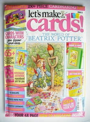 Let's Make Cards The World Of Beatrix Potter Cardmaking Kit (2010 - No. 32)