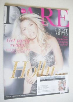 Dare magazine - Holly Willoughby cover (November/December 2013)