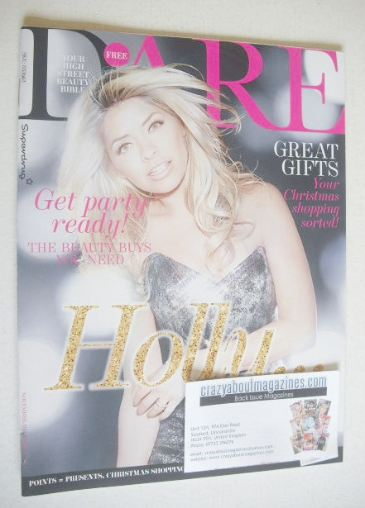 <!--2013-11-->Dare magazine - Holly Willoughby cover (November/December 201