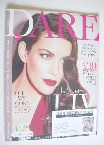 <!--2012-01-->Dare magazine - Liv Tyler cover (January/February 2012)