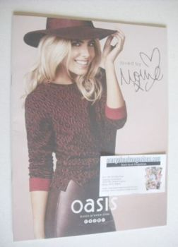 Oasis brochure - Mollie King cover (2013)