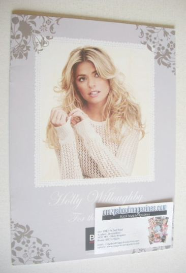 BHS For The Home brochure - Holly Willoughby cover (2013)