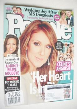 People magazine - Celine Dion cover (1 February 2016)