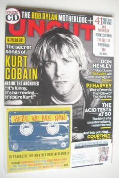 Uncut magazine - Kurt Cobain cover (December 2015)