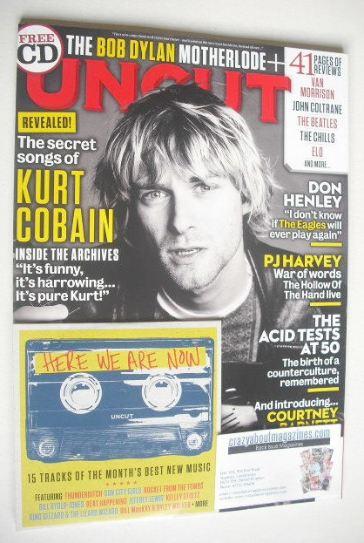 <!--2015-12-->Uncut magazine - Kurt Cobain cover (December 2015)