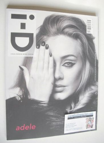 <!--2015-12-->i-D magazine - Adele cover (Winter 2015)