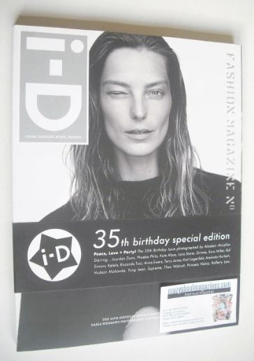 <!--2015-08-->i-D magazine - Daria Werbowy cover (Summer 2015)