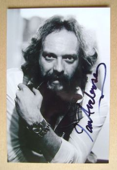 Ian Anderson autograph
