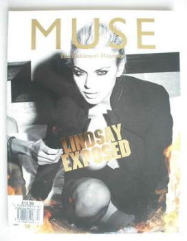 <!--2009-12-->Muse magazine - Winter 2009 - Lindsay Lohan cover