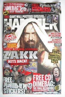 <!--2010-05-->Metal Hammer magazine - Zakk Wylde cover (May 2010)