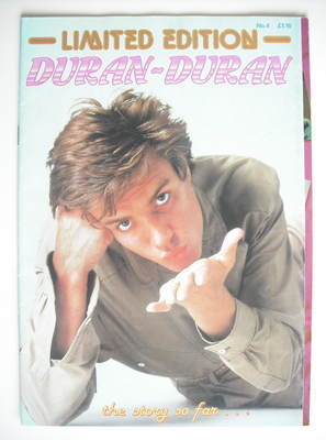 Duran Duran Limited Edition magazine - Simon Le Bon cover (No. 4)