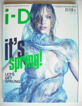 i-D magazine - Sasha Pivovarova cover (Spring 2010)