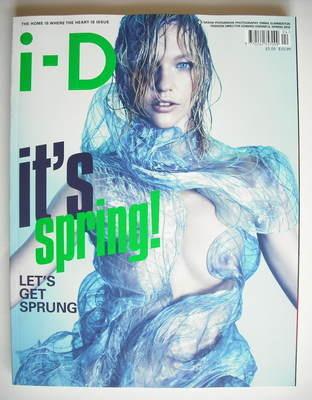 <!--2010-04-->i-D magazine - Sasha Pivovarova cover (Spring 2010)
