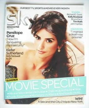 Sky TV magazine - June 2010 - Penelope Cruz cover
