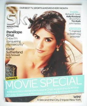 <!--2010-06-->Sky TV magazine - June 2010 - Penelope Cruz cover