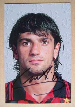 Gianluigi Lentini autograph