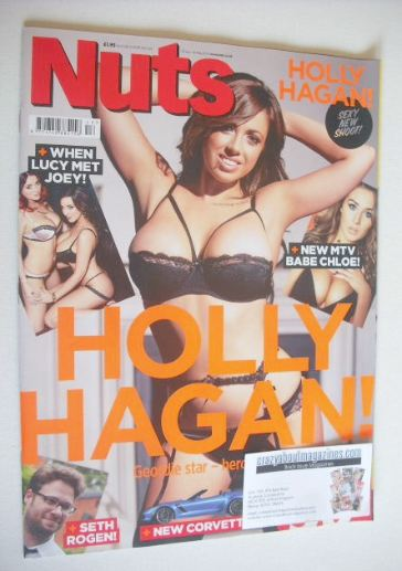 <!--2014-04-25-->Nuts magazine - Holly Hagan cover (25 April - 1 May 2014)