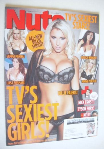 <!--2014-02-14-->Nuts magazine - Billie Faiers cover (14-20 February 2014)