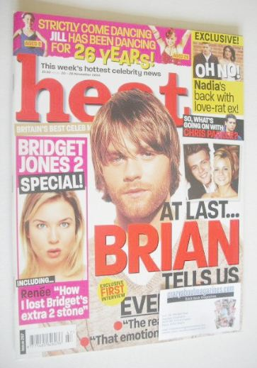 <!--2004-11-20-->Heat magazine - Brian McFadden cover (20-26 November 2004