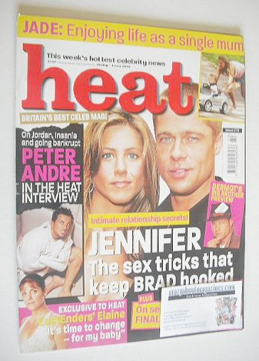 <!--2004-05-29-->Heat magazine - Jennifer Aniston and Brad Pitt cover (29 M