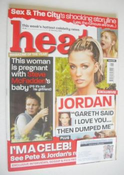 Heat magazine - Jordan cover (7-13 February 2004 - Issue 256)